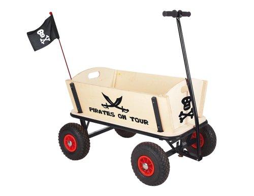 pinolino pirat jack bollerwagen mit handbremse. Black Bedroom Furniture Sets. Home Design Ideas
