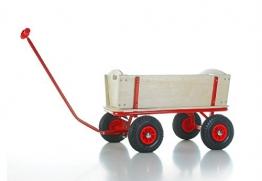Bollerwagen BUBI mit pannenfreien Vollgummi-Reifen - 1