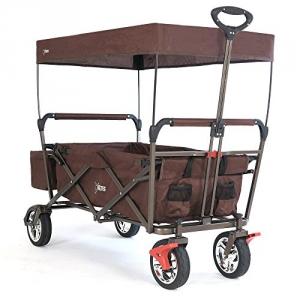 Fuxtec CT-500OR Faltbarer Bollerwagen mit Dach