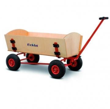 Bollerwagen Fun-Trailer Long mit Hinterachslenkung von Eckla - 1