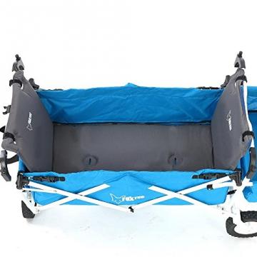 FUXTEC Bollerwagenmatte FX-BM2 aufblasbar mit Rückenpolsterung - 3