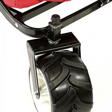 SAMAX Bollerwagen offroad rot diverse Ausführungen - 9