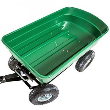 TecTake® Bollerwagen kippbar Kippwagen Transportkarre Gerätewagen belastar bis 300kg - 4