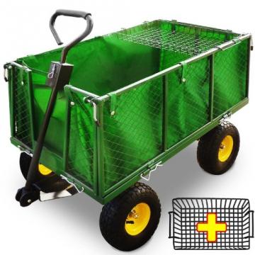 Transportwagen 550 kg - Bollerwagen Gartenwagen Handwagen Transportkarre Gerätewagen - 1